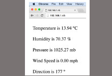 Weather Station Client Software