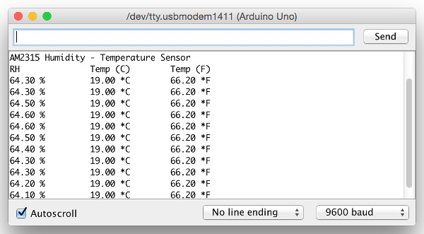Connect Arduino to AM2302 Humidity - Temperature Sensor