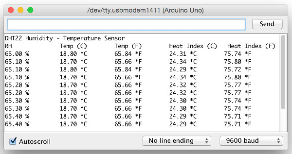 Connect Arduino to DHT22 Humidity - Temperature Sensor