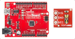 View Arduino to Sparkfun TEMT6000 Light Sensor Hookup