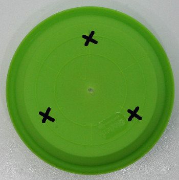 Mark Holes in plate
