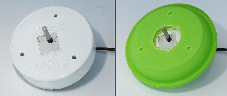 Top cover with sensor mounted