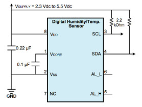 View Honeywell HIH6130 Humidity - Temperature Sensor Details