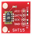 View Sensirion SHT15 Humidity - Temperature Sensor Details