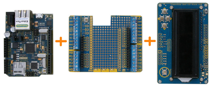 Arduino Shield Stack