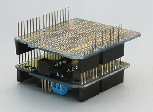 Arduino Shield Header Soldering